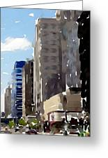 Wisconsin Ave 1 Greeting Card