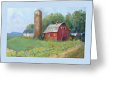 Wisconsin Barn Greeting Card