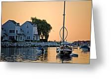 Wishbone Yacht Greeting Card