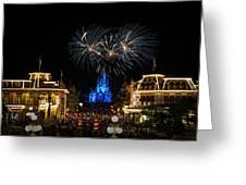 Wishes At Magic Kingdom Greeting Card