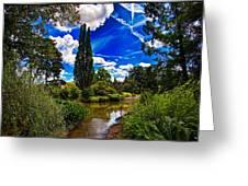 Wisley Gardens Greeting Card