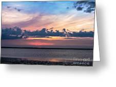 Wispy Cloud Bay Greeting Card