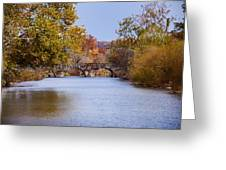 Wissahickon Autumn Greeting Card