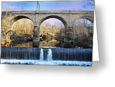 Wissahickon Viaduct Greeting Card