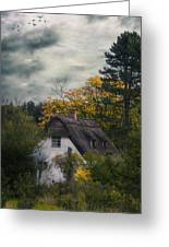 Witch Cottage Greeting Card