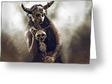 Witch Doctor 2 Greeting Card