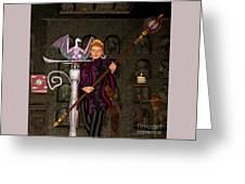 Witch Ritual Greeting Card