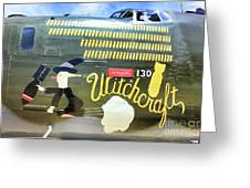 Witchcraft Bombs Away  Greeting Card