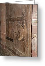 Witches Bite Door Heidelberg Castle Greeting Card