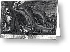 Witches Sabbath, 1630 Greeting Card
