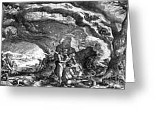 Witches Sabbath, 1700 Greeting Card