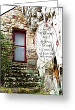 With Me - Quote Greeting Card