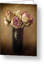 Withered Beauty Greeting Card