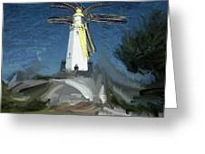 Withernsea Lighthouse Greeting Card