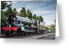 Witherslack Hall 4-6-0  Greeting Card