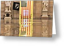 Within Capitol Walls  Greeting Card