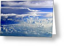 Within Clouds Greeting Card