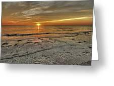 Witness - Florida Sunset Greeting Card