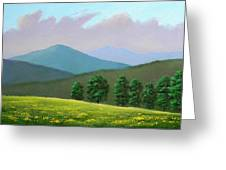 Witness Trees In Spring Greeting Card