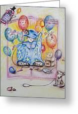 Wizard Boy Greeting Card