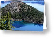 Wizard Island Greeting Card