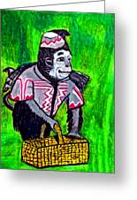 Wizard Of Oz Flying Monkey Greeting Card