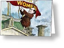 W.j. Bryan Cartoon, C1915 Greeting Card