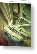 Wl1989dc004 New Dimension Of The Light 26 X 37.6 Greeting Card