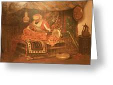 Wla Brooklynmuseum William Merritt_chase_the_moorish_warrior Greeting Card