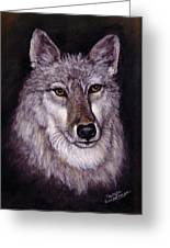 Wolf Buddy Greeting Card