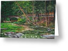Wolf Creek Glen Greeting Card