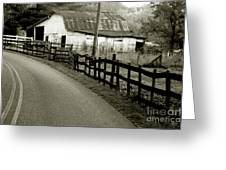Wolf Creek Road Greeting Card