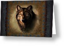 Wolf Lodge Greeting Card