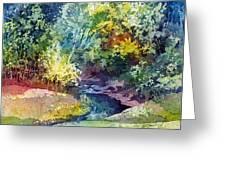 Wolf Pen Creek Greeting Card
