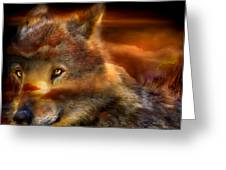 Wolfland Greeting Card