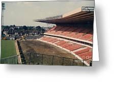 Wolverhampton - Molineux - Molineux Street John Ireland Stand 3 - 1979 Greeting Card