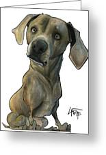 Womack 3291 Cooper Greeting Card