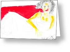 Woman 1 Greeting Card
