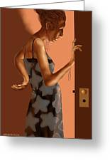 Woman 37 Greeting Card