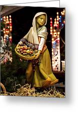 Woman Bearing Gifts For Jesus Our Savior Greeting Card