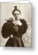 Woman, C1885 Greeting Card