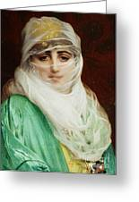 Woman From Constantinople Greeting Card