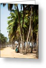 Woman In Ouidah I Greeting Card