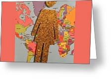 Woman Of The World Greeting Card