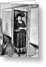 Woman: Voting, 1920 Greeting Card