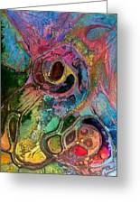 Womb Of Creation Greeting Card