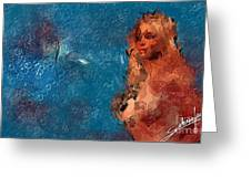 Women  - Abstract Greeting Card