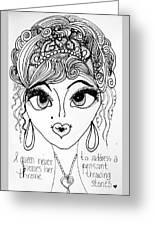 Women Of Faith 4 Greeting Card