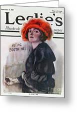 Women Voting, 1920 Greeting Card