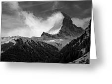 Wonder Of The Alps Greeting Card